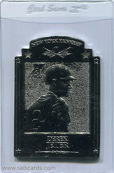 Derek Jeter 1997 Pinnacle X-Press Metal Works #5 Silver /400