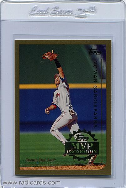 Nomar Garciaparra 1999 Topps #265 MVP Promotion /100