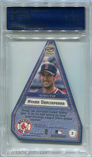 Nomar Garciaparra 2001 Pacific Cramer's Choice #2 Canvas PSA 9