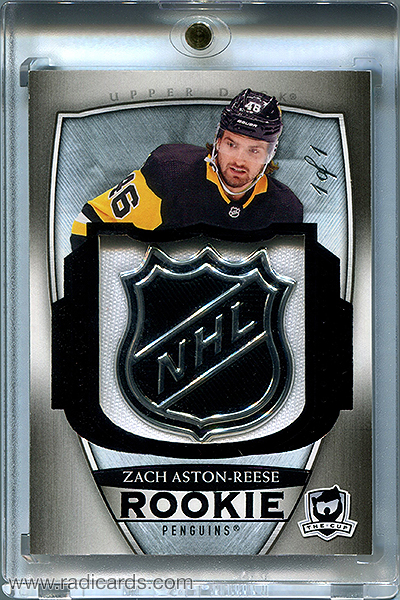 Zach Aston-Reese 2018-19 The Cup #85 Black Shield /1