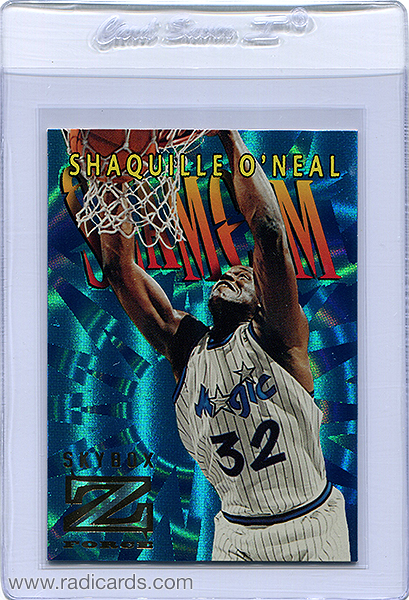 Shaquille O'Neal 1996-97 Z-Force Slam Cam #SC9