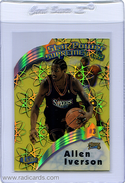 Allen Iverson 1997-98 Ultra Star Power Supreme #SPS2