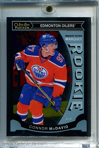Connor McDavid 2015-16 O-Pee-Chee Platinum Marquee Rookies #M1
