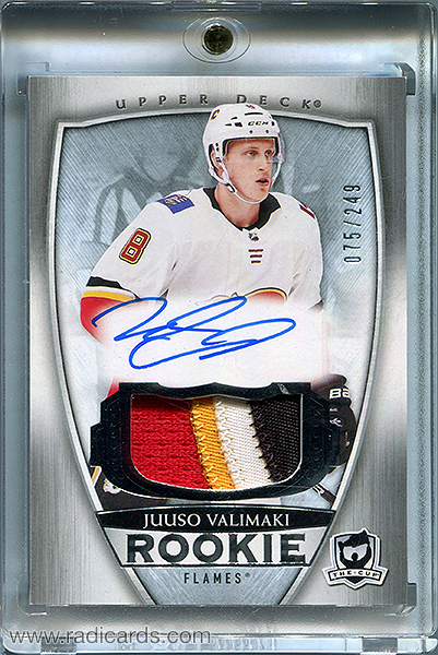 Juuso Valimaki 2018-19 The Cup #110 /249