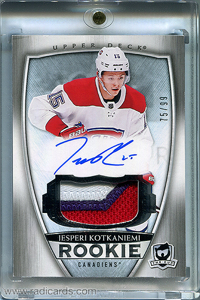 Jesperi Kotkaniemi 2018-19 The Cup #65 /99