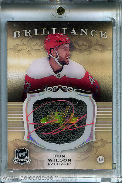 Tom Wilson 2018-19 The Cup Brilliance Autographs #B-TW