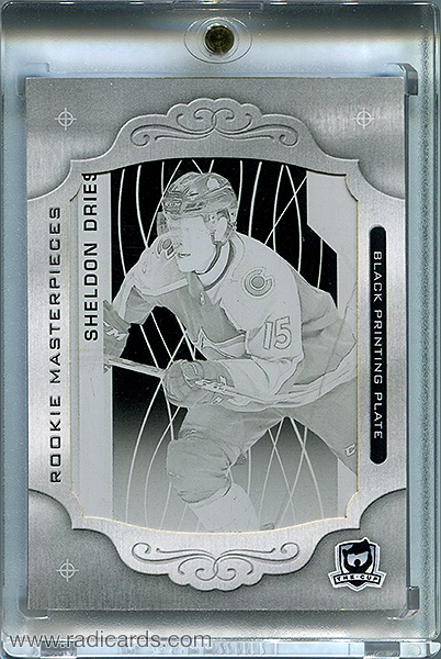 Sheldon Dries 2018-19 The Cup Printing Plates SP Game Used Black #SPGU-191 /1