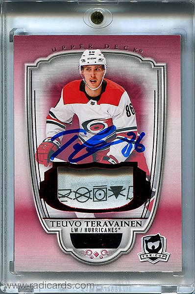 Teuvo Teravainen 2018-19 The Cup #10 Red /2