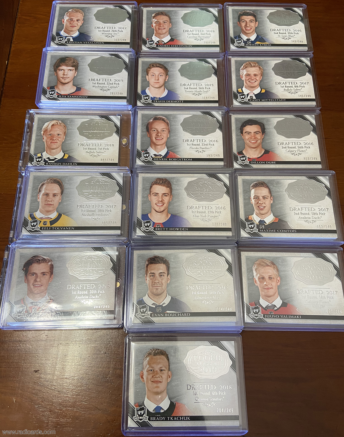 2018-19 The Cup Rookie Class of 2019 Lot