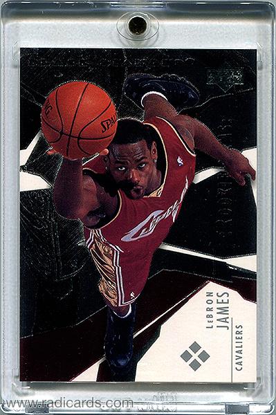LeBron James 2003-04 Black Diamond #184